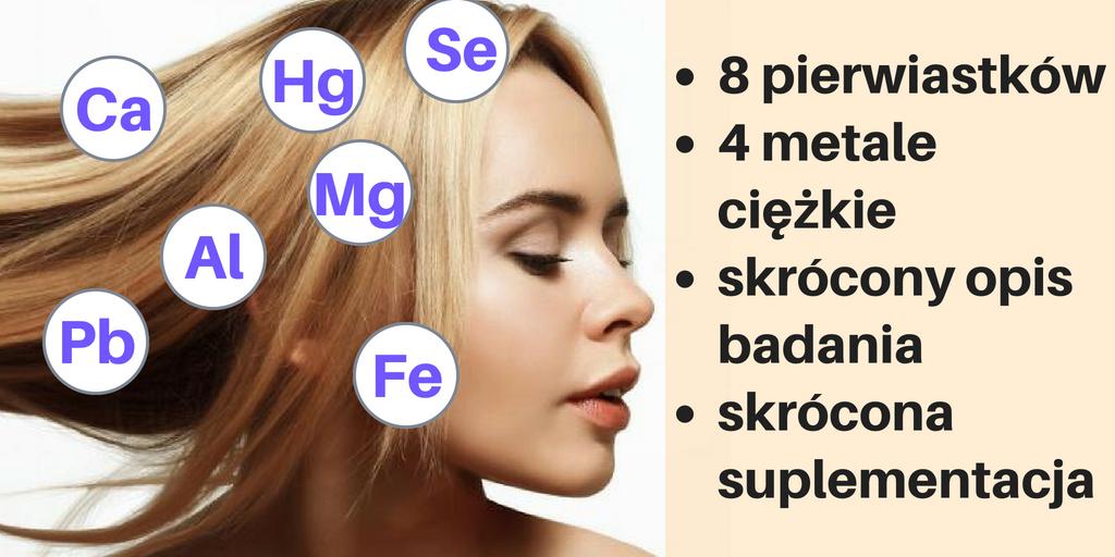 Badanie pierwiastków z włosa