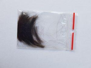 Analiza Pierwiastkowa Włosów - próbka do badania